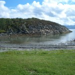 Пляж в Норвегии