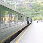 Поезд на Мирдал