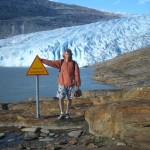 У ледника Свартисен