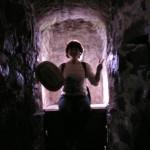 Туалет в крепости Олавинлинна