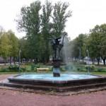 Ловиса, фонтан