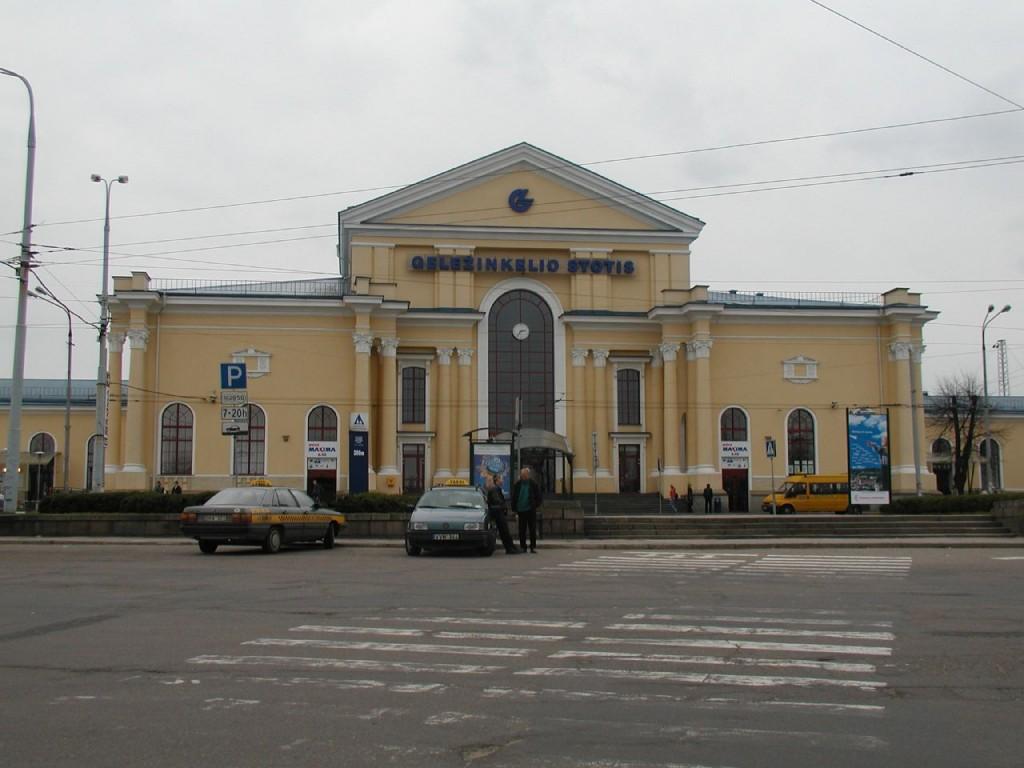 Вокзал в Вильнюсе