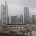 Франкфурт, дождь